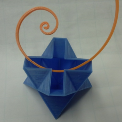 Télécharger STL gratuit Tétraédrique Spikey, Tetrahedron, LGBU