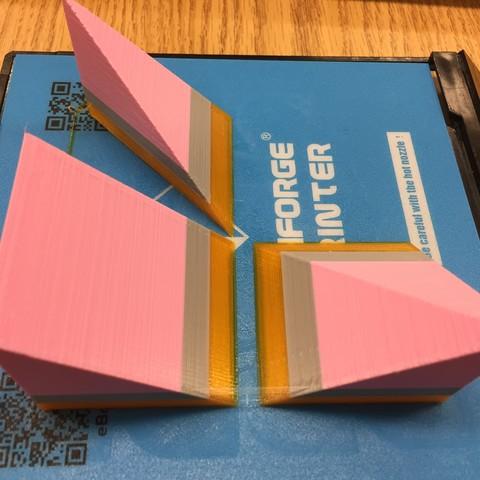 IMG_1506.jpg Télécharger fichier STL gratuit Liu Hui Cube Puzzle / Dissection (Qiandu, Yangma, Bie'nao) • Plan imprimable en 3D, LGBU