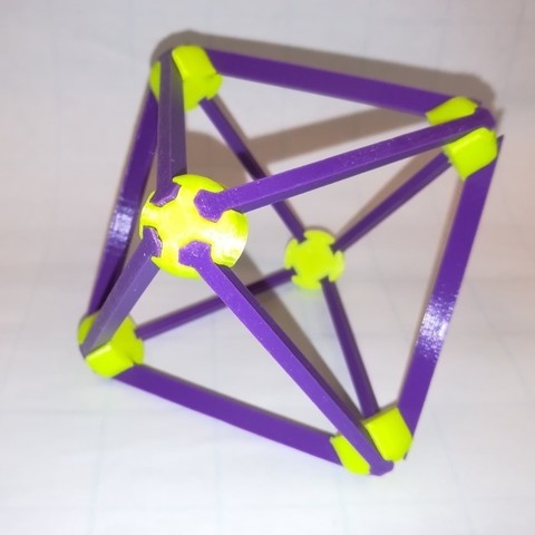Free 3D model Make Your Own Platonic Octahedron, Snap, LGBU