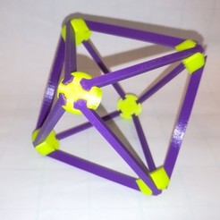 Download free 3D model Make Your Own Platonic Octahedron, Snap, LGBU