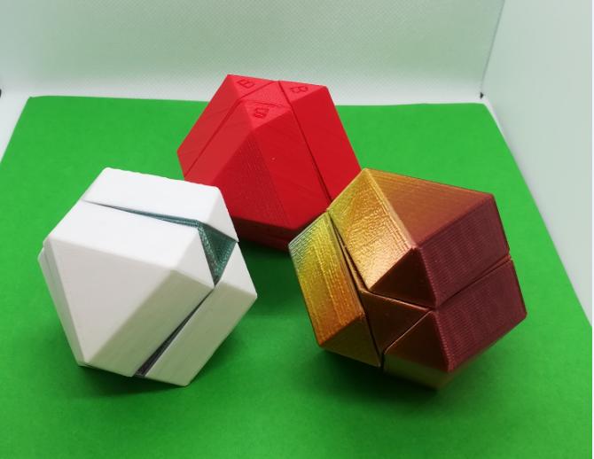 m3.PNG Download free STL file Cuboctahedron Puzzle, Cube Puzzle • 3D printable design, LGBU