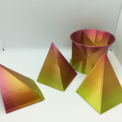 Download free STL file Spinning the Cube: Face Diagonal & Hyperboloid, LGBU