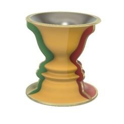 Free 3D printer files Optical Illusion: Vase vs Face, LGBU