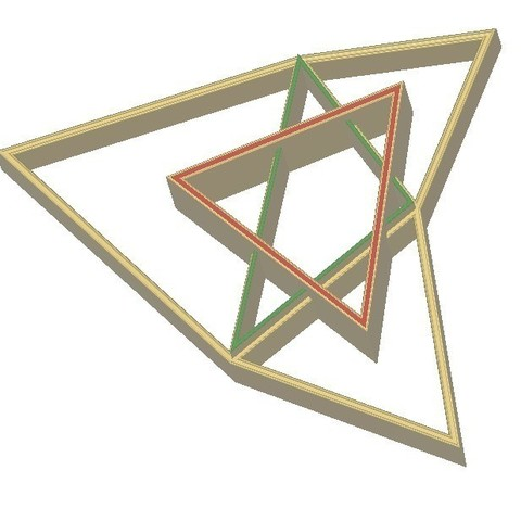 28ce60cfb9c6c210fac92a0625e87d10_display_large.jpg Download free STL file Napoleon Triangle, Equilateral Triangle • 3D printing object, LGBU