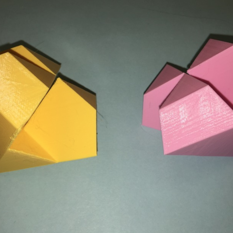 Capture d'écran 2018-01-22 à 12.08.55.png Download free STL file Diamond, Dodecahedron, Kawai Joint • Design to 3D print, LGBU