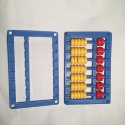 Free Abacus, Soroban, そろばん, Suan Pan, 算盘, Chinese, Japanese 3D printer file, LGBU
