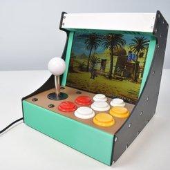 Image.jpg Download STL file Fully 3D Printed Mini Arcade • 3D print template, ruiraptor