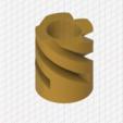PenHolderEndmill.PNG Download STL file Pencil Holder Endmill • 3D printing model, GForceFX