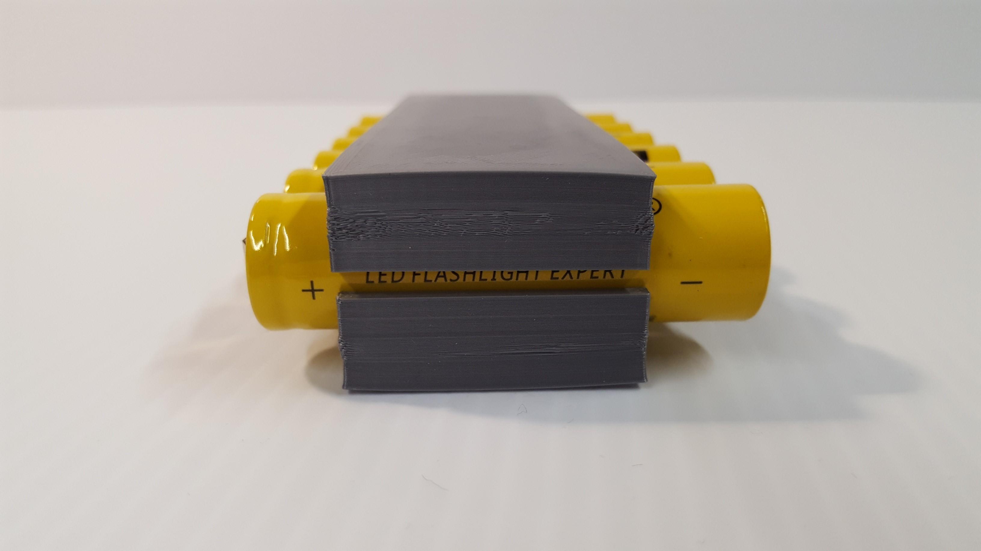 Batt3.jpg Download STL file TR 18650 Battery Holder • Object to 3D print, GForceFX