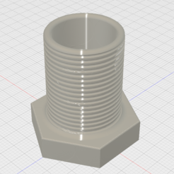 Bolt Pencil Holder 3D model, GForceFX