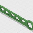 3D printer files G0704 Draw Bar Wrench, GForceFX