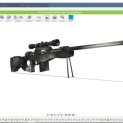Free 3D model awp, Black-Hurricane