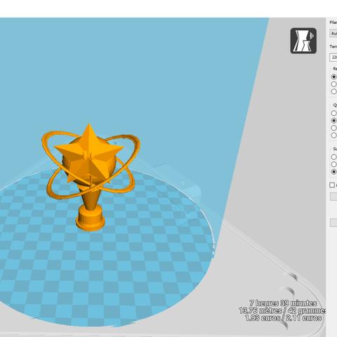 Télécharger fichier STL gratuit trophée Mario Kart, Black-Hurricane