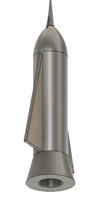 fusée.PNG Télécharger fichier STL gratuit fusée rocket candy • Design imprimable en 3D, Black-Hurricane