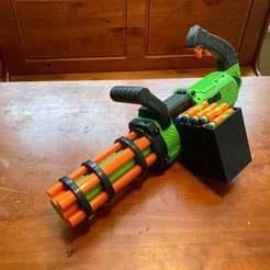minigun.jpg Download STL file Box Magazine for Adventure Force Minigun • 3D print model, ArtemasAirsoftArms