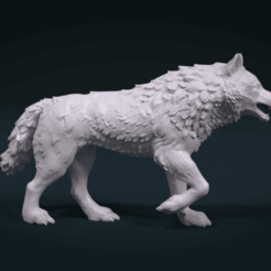 Download free 3D printer model Wolf, Alex03