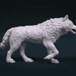 Télécharger fichier 3DS gratuit Wolf • Plan pour impression 3D, Alex03