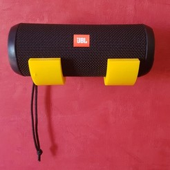 Descargar modelo 3D gratis JBL FLIP 2-3 o 4 altavoces base de pared, VChoupinou