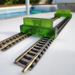 IMG_20200613_190716_1.jpg Télécharger fichier STL Guide d'installation rails échelle N - N scale • Modèle pour impression 3D, wericless