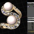 Descargar modelos 3D para imprimir ANILLO PERLAS , Luis36