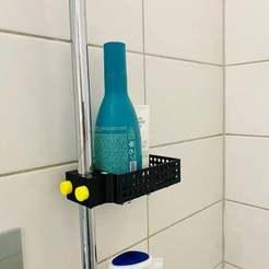 IMG_1295.jpg Download free STL file Shower Basket / Duschkorb • 3D print template, Chileo