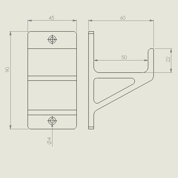 schraubzwinge_gross.PNG Descargar archivo STL gratis Schraubzwingenhalter / Soporte de abrazadera de tornillo • Diseño para imprimir en 3D, Chileo