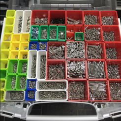 Free 3D printer model Organizer Boxes, MuSSy