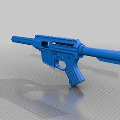 Descargar diseños 3D gratis Pistola de peso pluma AR-15 (PROP), MuSSy