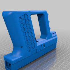 BLASTER_COMBINED.png Download free STL file ZERO % G-19 BLASTER (Training Aid) • 3D printable model, MuSSy