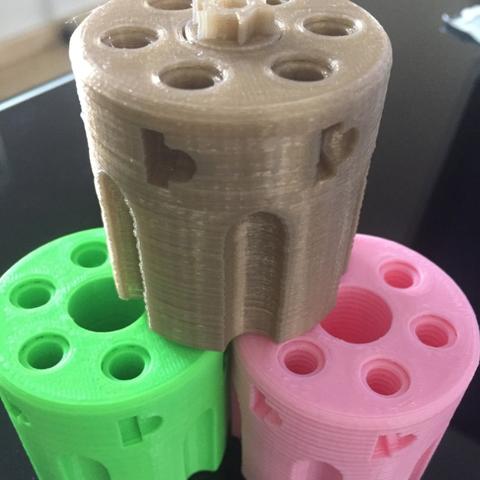 Capture d'écran 2017-12-29 à 10.00.23.png Download free STL file Revolver Cylinder Exercise (HOW TO 3,4,5,6 & 12 shots) • 3D printer model, MuSSy