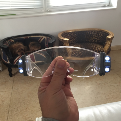 Free 3D print files Safety Glasses Led Lights, MuSSy