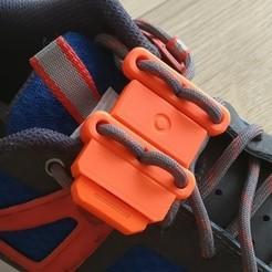 Impresiones 3D gratis Otro clip de cordones de zapatos v2, MuSSy