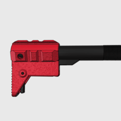 BRACE.png Download free STL file Mini Pistol Brace • 3D printable template, MuSSy