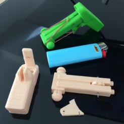 Descargar STL gratis Match Stick SHOOTER, MuSSy