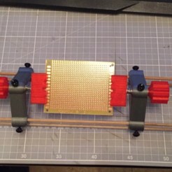 Free 3D printer designs PCB Clamp v1.0, MuSSy