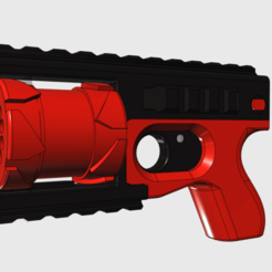 2_shooter_revolver.png Download free STL file REVO 2X (prop) • 3D printable design, MuSSy