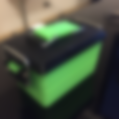Ammo_Can_A.stl Download free STL file Mini Ammo Can (Survival Tin) • 3D printable template, MuSSy