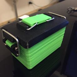 Objet 3D gratuit Mini boîte de munitions (étain de survie), MuSSy