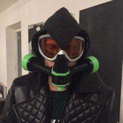Imprimir en 3D gratis Máscara de gas de Fallout Raider (cosplay), MuSSy