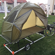 Free 3D printer file Bike Caravan / BOV (Bug Out Vehicle), MuSSy