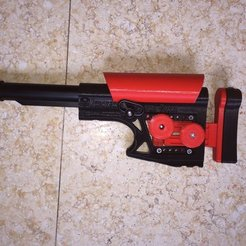 Download free 3D print files P.S.S (Precision Sniper Stock), MuSSy