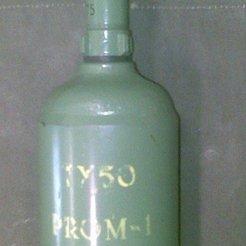 Impresiones 3D gratis P.R.O.M-1 YUGOSLAVIAN LAND MINE (Atrezzo Histórico), MuSSy