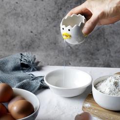 Descargar modelo 3D gratis Tweety Egg Separator (Cocina), MuSSy