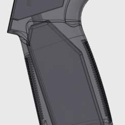 mp_grip.png Download free STL file AR-15 MP-5 STYLE GRIP • 3D printing template, MuSSy