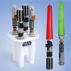Free 3d printer designs Lightsaber Popsicle (Summer Is Here 1), MuSSy