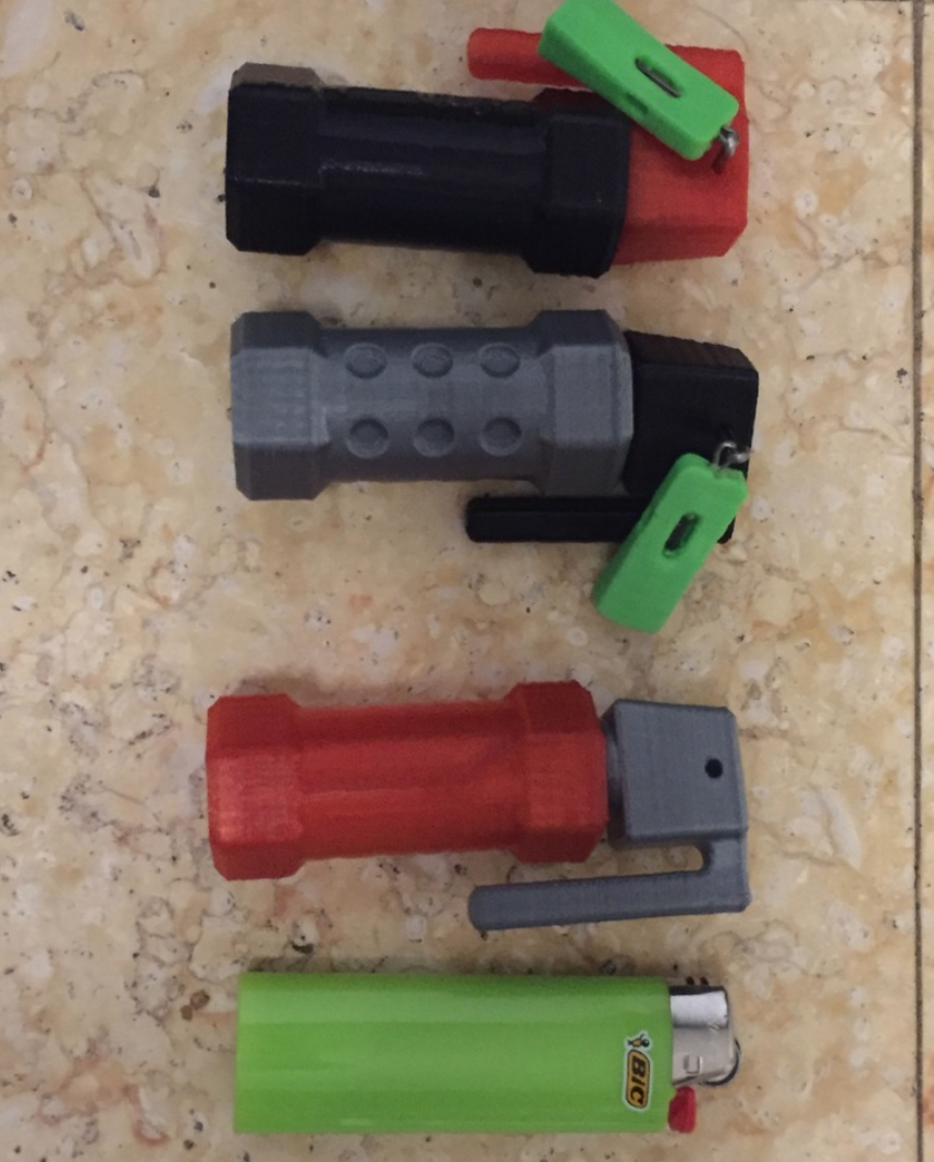 Capture d'écran 2018-01-02 à 14.35.08.png Download free STL file Flash Bang Grenade Storage Container • 3D printable design, MuSSy