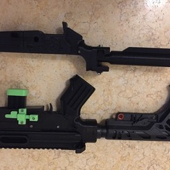 Download free 3D print files Minimalist AR 15 (PROP / REPLICA) Lower (PART 4), MuSSy