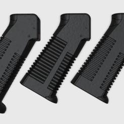 GRIP_X.png Download free STL file Grip X (AR-15) • Design to 3D print, MuSSy