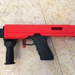 Download free 3D printing templates B&T Style PDW kit (WE-G17-Airsoft ONLY), MuSSy