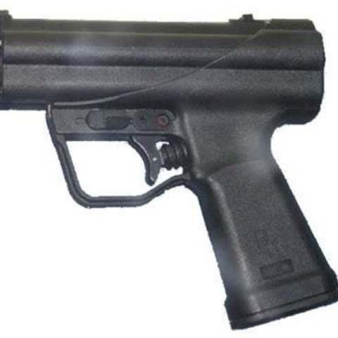 Free STL H&K P11 (Underwater Pistol Prop), MuSSy